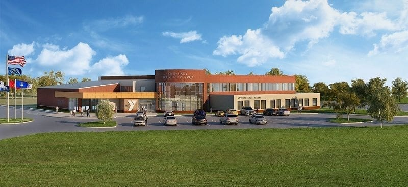 OrthoIndy Foundation YMCA rendering