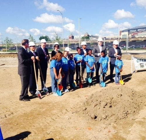 Irsay Family YMCA at CityWay Ground Breaking Ceremony | YMCA Galleries & Photos | YMCA of Greater Indianapolis
