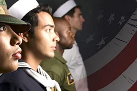 Vet group in uniforms