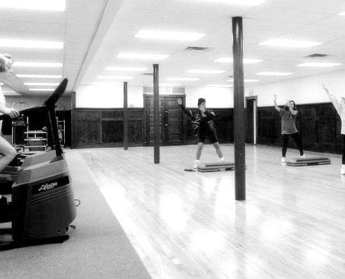 Workout in lower level | YMCA at the Athenaeum | YMCA of Greater Indianapolis
