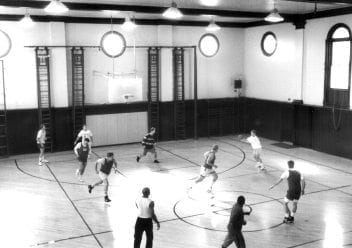 Basketball inside Historic Gym | YMCA at the Athenaeum | YMCA of Greater Indianapolis