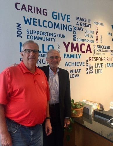 Benjamin Harrison YMCA leadership