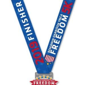 Freedom 5K medal