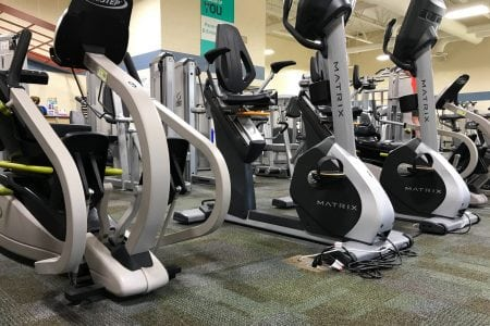 Wellness Center - Low Impact Equipment