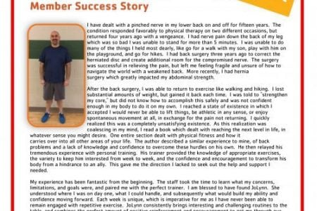 Paul Whitbeck | Y Story | Fishers YMCA | YMCA of Greater Indianapolis