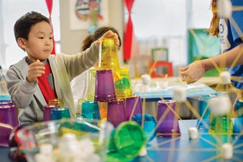 STEM at before and after school care at the Y