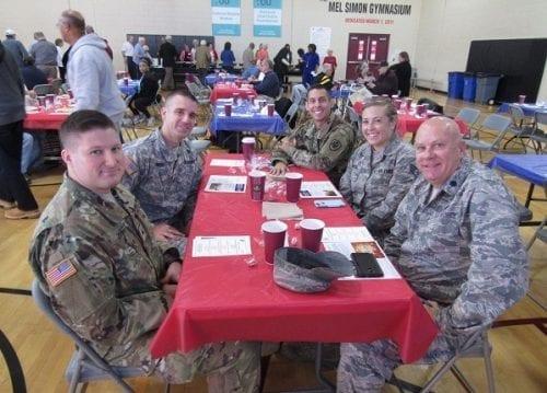 Benjamin Harrison Veterans Appreciation Lunch email