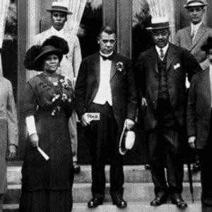 Dedication of the Senate Avenue YMCA in 1913