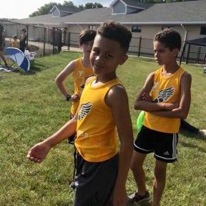 YMCA Track team