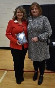 Melissa Luebbert - Center Advisory Board Member Award Winner