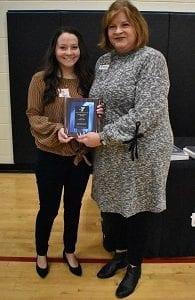 Heidi Lewis- Youth Volunteer Award Winner