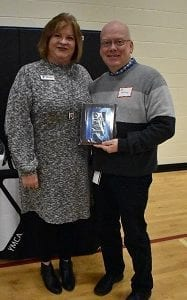 Joe McKinney- Adult Mission Award Winner