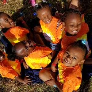 Pike YMCA Camp kids