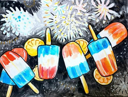 Popsicles and Painting @ Hendricks Regional Health YMCA | Avon | Indiana | United States