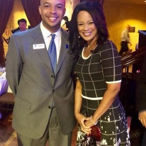 YMCA CEO Derrick Stewart and Fanchon Stinger, Fox59