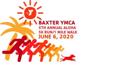 2020 Baxter Aloha 5K Run/1 Mile Walk-CANCELLED @ Baxter YMCA | Indianapolis | Indiana | United States