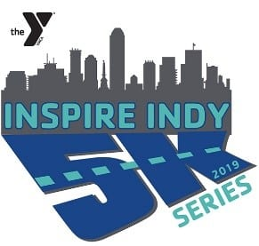 Inspire Indy 5K Series logo 2019