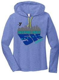 YMCA Inspire Indy 5K Series swag