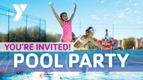Member Pool Party @ Outdoor Pool, Benjamin Harrison YMCA | Indianapolis | Indiana | United States