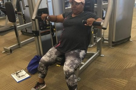 Cancer survivor Felita regains her strength through LiveStrong at the YMCA