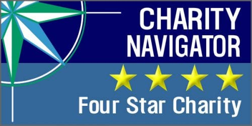 Charity Navigator 4-Star Organization logo
