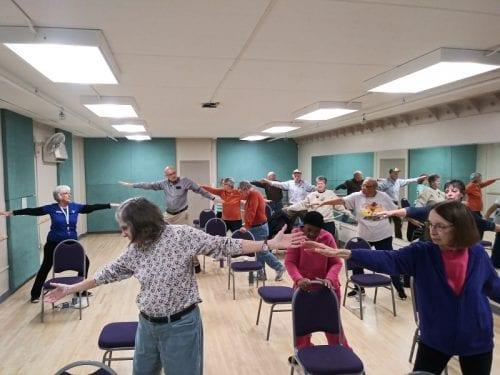 Yoga Stretch at Ransburg YMCA