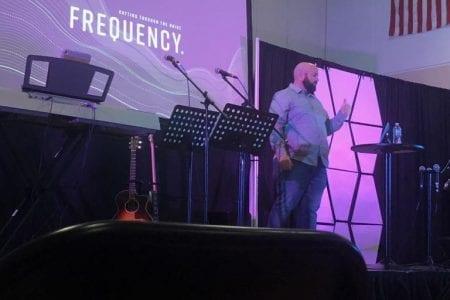 Teddy Conn shares Gods word
