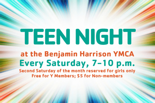 Teen Night @ Benjamin Harrison YMCA | Indianapolis | Indiana | United States