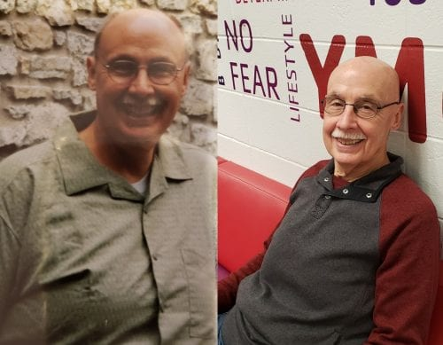 Mike Denton - before and after weight loss