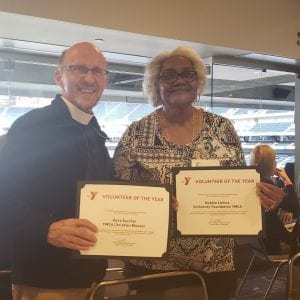 Ortho Indy YMCA Volunteers of the Year