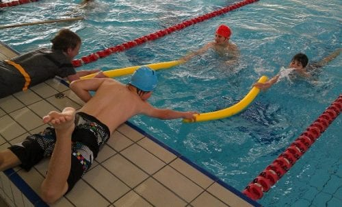 Kids swimming - Water Safety