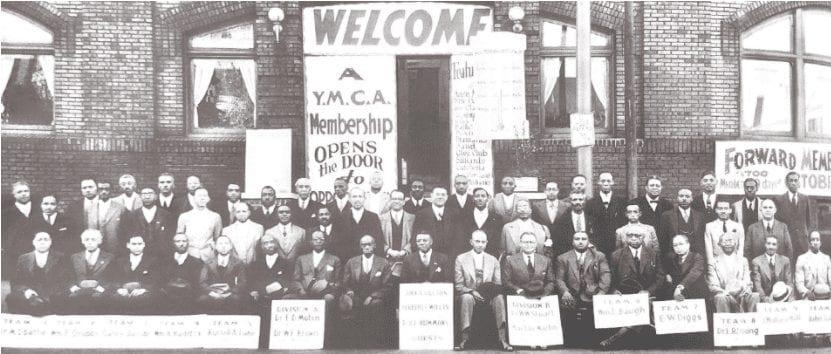 Senate Avenue YMCA in 1913 - Black History