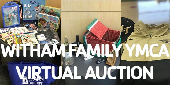 witham family YMCA silent auction