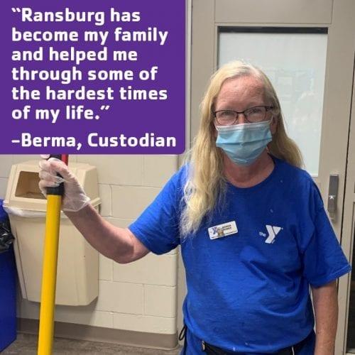 Ransburg YMCA Love Where You Work Berma