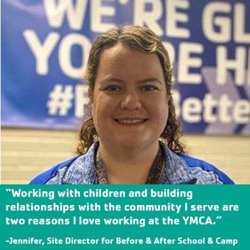 Ransburg YMCA Love Where You Work Jennifer