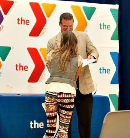 Board Awards at Fishers YMCA   YMCA of Greater Indianapolis