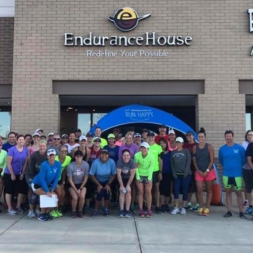 Endurance House running event