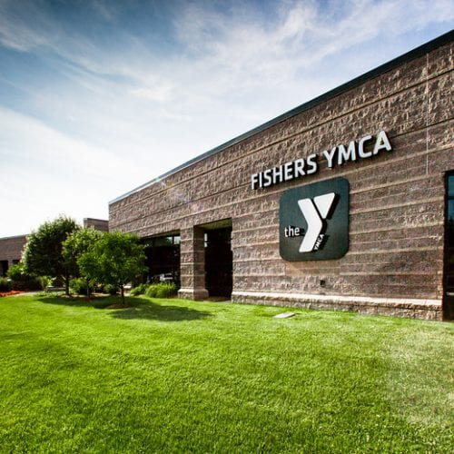 Outside of Fishers YMCA Facility